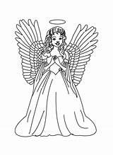 Angel Coloring Engel Guardian Colorear Printable Ausmalbilder Malvorlagen Angeles Angels Male Pintar Adults Dibujos Drawing Zum Kinder Clip Imprimir Adult sketch template
