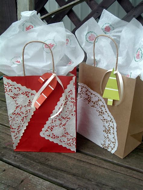 hand made gift bags for christmas diy gift bags val event gal