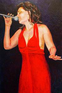 The Jazz Singer Painting by Michael Durst