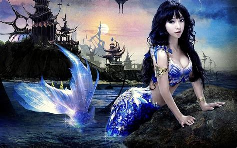 Mermaid Wallpaper And Background Image  1280x800 Id335729