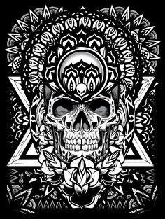 300+ Best Skull Heads images | skull, skull art, skull and