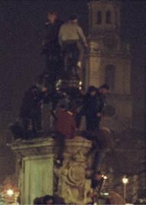 Trafalgar Square, New Year's Eve, 1981 - A London Inheritance