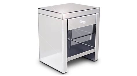 chevet miroir bibiana un chevet 224 tiroir au design contemporain mobilier moss