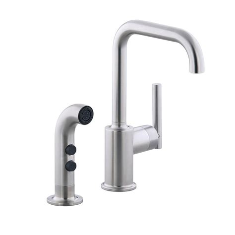 kohler mistos faucet r72508 kohler mistos single handle standard kitchen faucet with