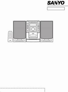 Sanyo Stereo System Dc