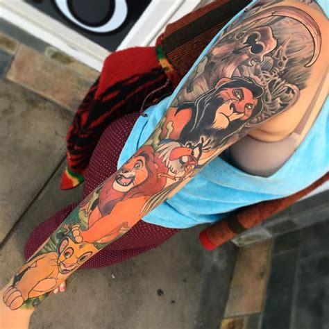 lion king tattoo simba nala rafiki  mufasa tattoo ideas