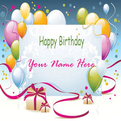 write    beautiful birthday card