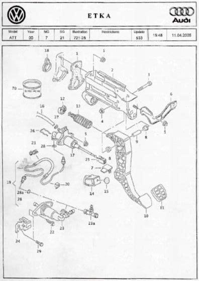 replacing broken clutch pedal   guide  pics