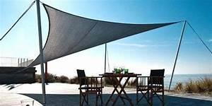 Protection Soleil Terrasse : toile solaire terrasse voile solaire terrasse espace ombrage ~ Nature-et-papiers.com Idées de Décoration