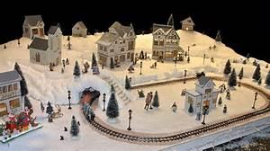 Maison De Noel Miniature : deco village de noel miniature pas cher ~ Nature-et-papiers.com Idées de Décoration