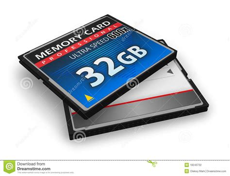High Speed Compactflash Memory Cards Stock Photography  Image 18243732