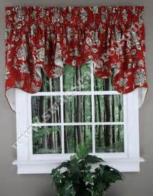 jeanette duchess valance country style swag curtain