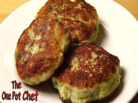 easy fish cakes recipe video  onepotchefshow ifoodtv