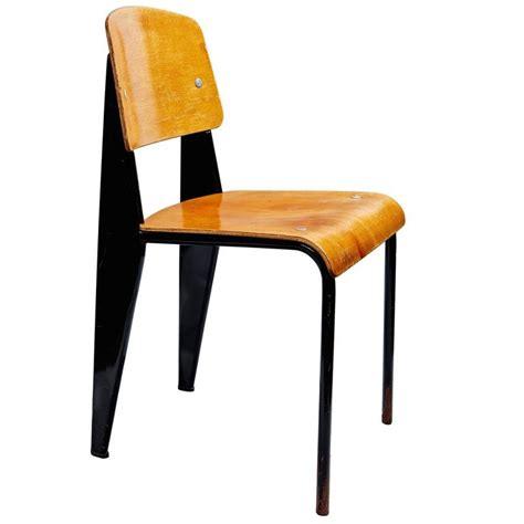 jean prouvé chaise quot chaise standard quot by jean prouvé at 1stdibs