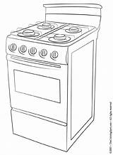 Stove Coloring Pages Cooking Printable Stoves Ware Drawing Para Adult Ol Printables Colorir Pintar Brain Pixels Doodle Cookware Kitchen Desenhos sketch template