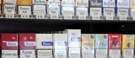 compte au bureau de tabac paquets de cigarettes neutres l 39 industrie du tabac