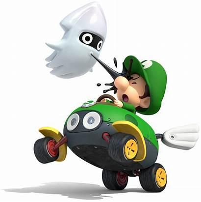 Mario Kart Luigi Blooper Artwork Super Character