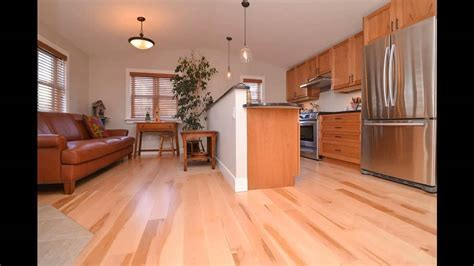 Natural Beech & Natural Maple Hardwood Flooring: Virtual