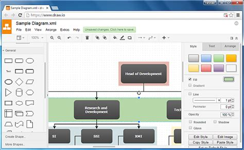 drawio   drawing software flowchart maker