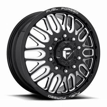 Wheels Lug Dually Fuel Rims Gloss