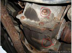 Hilfe beim Wechsel Getriebe+ Hinterachsgetriebeöl BMW
