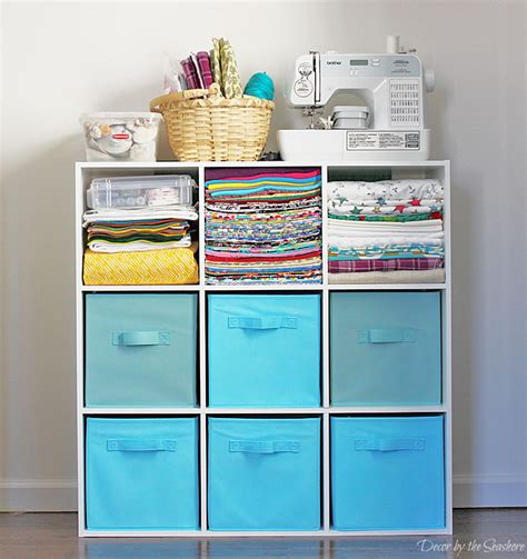 How To Store Your Craft Supplies In A Small Space Decor