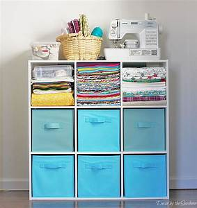 How to Store Your Craft Supplies in a Small Space - Decor