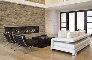 Deco Salon Moderne : d coration salon moderne noir et blanc deco maison moderne ~ Teatrodelosmanantiales.com Idées de Décoration