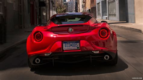 Alfa Romeo 4c Specs by 2015 Alfa Romeo 4c Us Spec Rear Hd Wallpaper 12