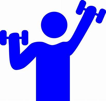 Gym Weight Lifting Exercise Muscle Fitness Graphic