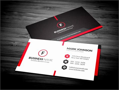 photoshop  card template