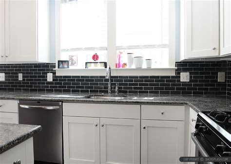 black backsplash kitchen black slate backsplash tile new caledonia granite backsplash