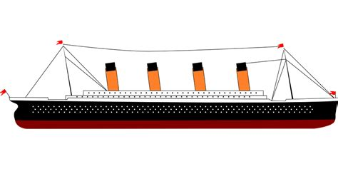 Titanic Boat Vector by Free Vector Graphic Titanic Ship Boat Steamer Free