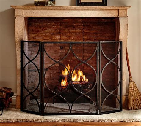 pottery barn fireplace screen pottery barn 20 free shipping this weekend