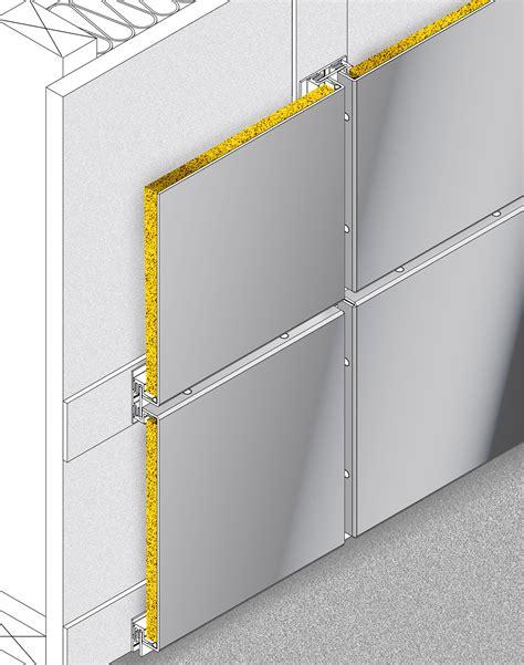 insulated panels saf  insulated rainscreen panels saf southern aluminum finishing