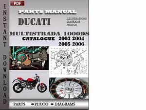 Ducati Multistrada 1000 Ds 2003 2004 2005 2006 Parts