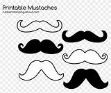 Mustache Printable Coloring Moustache Clipart Pikpng Copyright sketch template