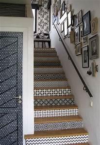 carrelage adhesif tout ce que vous devez savoir With carrelage adhesif salle de bain avec escalier a led