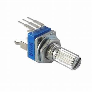 9mm 10k Ohm Rotary Potentiometer With 15mm Shaft