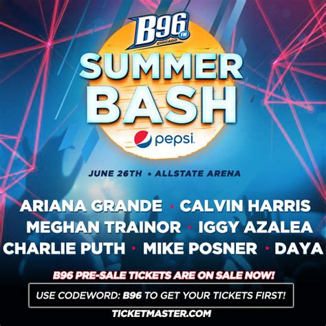 Mike Posner to Perform at B96 Pepsi Summer Bash - June 26 ...
