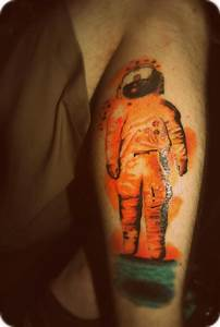 Brand New Astronaut Tattoo - Pics about space