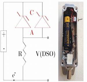 Left  Circuit Of Zener Diode Gravitationalwave Detector