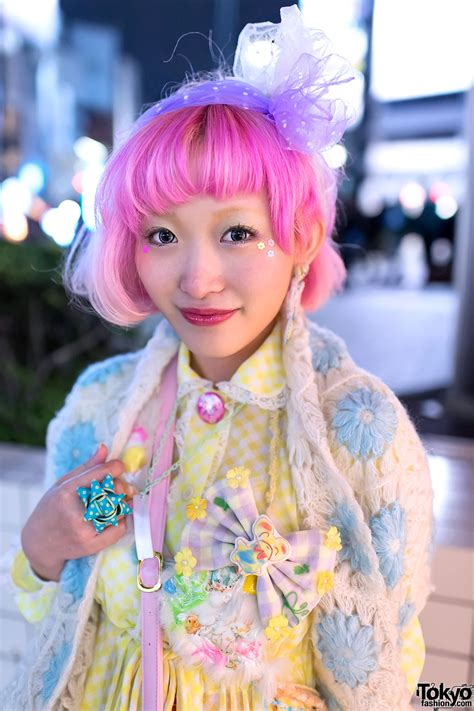 Kumamiki W Pink Hair Party Baby Spank And Angelic Pretty
