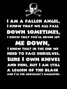 Bvb Fallen Angels Quotes. QuotesGram