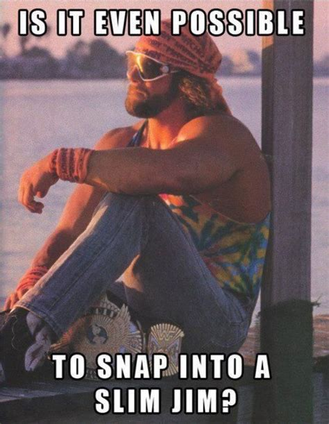 Macho Man Memes - 17 best images about randy savage on pinterest cardiovascular disease savages and hulk hogan