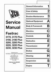 Jcb 3170  3190  3200  3220  3230 Fastrac Service Manual