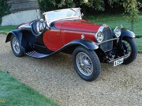 Type 44 was the most produced bugatti from that era, with over 1100 units. automobileweb - bugatti type 44 roadster vert-planas 44725