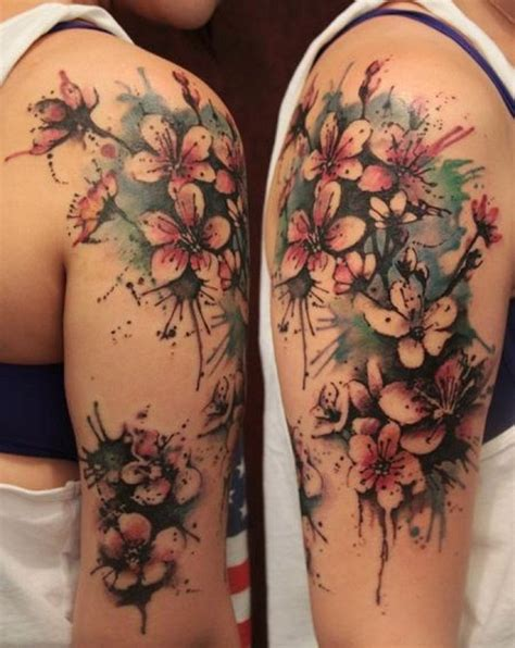 sleeve flower tattoo design womenjpg  pixels