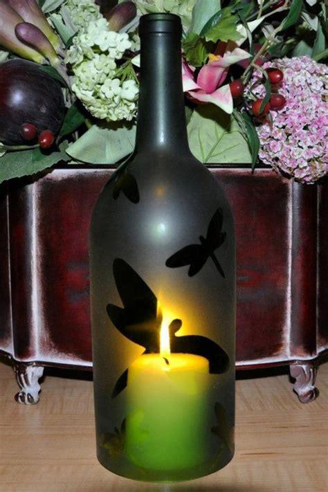 diy lamp  wine bottles creative decorating ideas