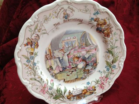 Royal Doulton Geschirr by Royal Doulton Brambly Hedge The Birthday Plate